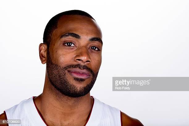 A portrait of Wayne Ellington of the Miami Heat on September 26 2016 in Miami Florida