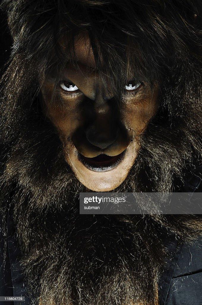 Portrait of werewolf : Stock Photo