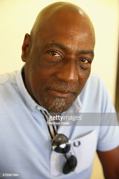 A portrait of West Indian cricket legend Sir Vivian Richards during day five of the 1st Test match between West Indies and England at the Sir Vivian...