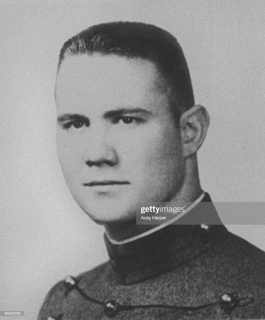 Portrait of West Point Cadet Norman Schwarzkopf, future Gen. & Cmdr.-in