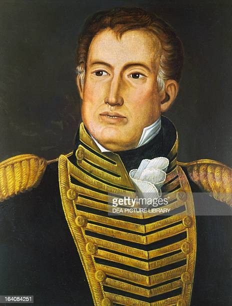 Portrait of William Brown Irishborn Argentinian Admiral of the navy in the war of Independence Buenos Aires Museo Histórico Nacional Del Cabildo De...