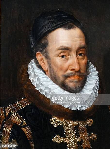 Portrait of William I Prince of Orange Painted by Adriaen Thomasz Key Dated 16th Century