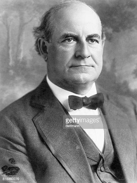 1915 Portrait of William Jennings Bryan American lawyer and political leader famous for his defense fundamentalism in the ScopesMonkey trial Photo by...