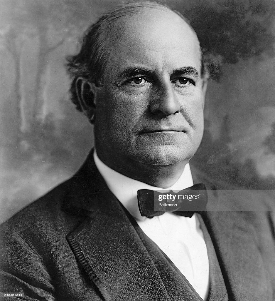American Conductor Heads : William jennings bryan getty images