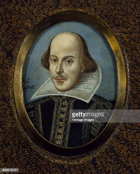 Portrait of William Shakespeare ca 1865 Found in the collection of Folger Shakespeare Library Artist Rossetti Dante Gabriel