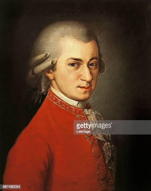 Portrait of Wolfgang Amadeus Mozart by Barbara Krafft 1819 Gesellschaft der Musikfreunde Vienna Austria