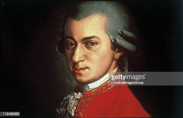 Portrait of Wolfgang Amadeus Mozart circa 1780 painted by Johann Nepomuk della Croce Wolfgang Amadeus Mozart prolific and influential Austrian...