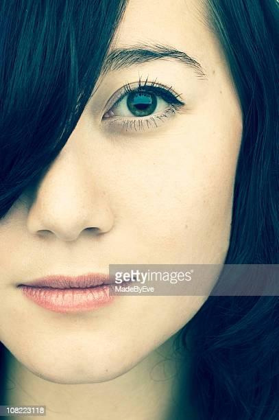 Portrait of Woman, Close-up