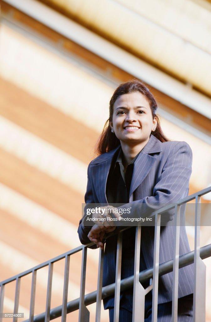 Portrait of woman executive : Stock Photo