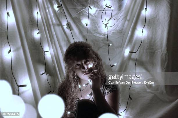 String Lights Portrait : Heuvel Stock Photos and Pictures Getty Images