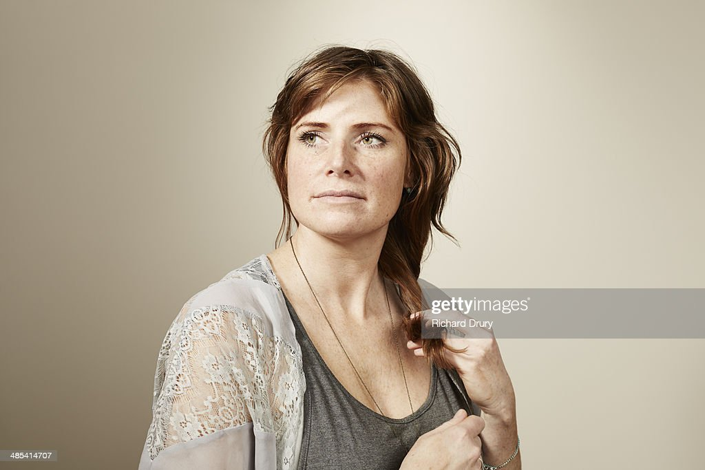 Portrait of woman lost in thought