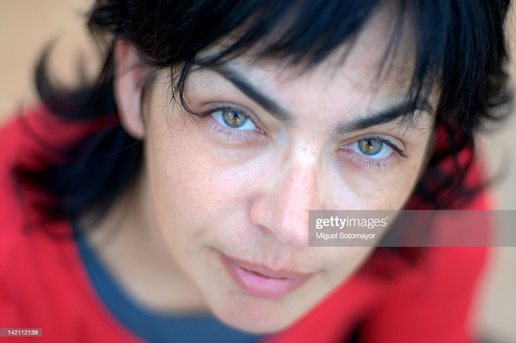 Portrait of woman : Stock Photo