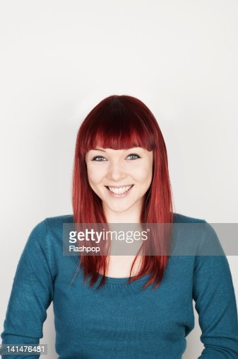 Portrait of woman smiling : Stock-Foto