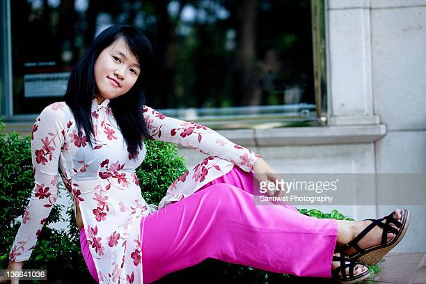 Ao Dai Stock Photos and Pictures