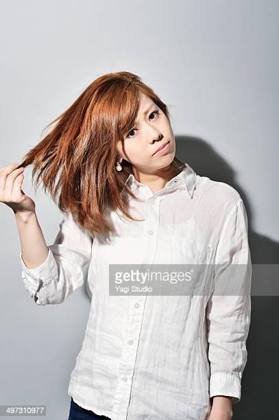 Portrait of woman,Japan