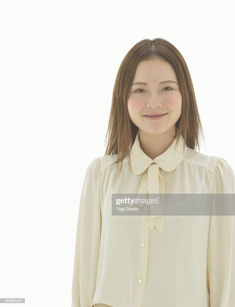 Portrait of woman,smiling