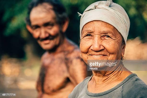 Portrait of workers, Cuba