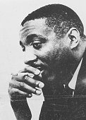 Portrait of writer and social activist Dick Gregory 1972