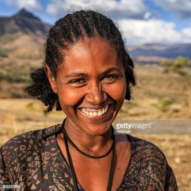 Portrait of young African woman, East Africa