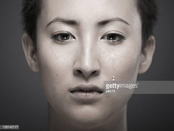 Portrait d'une jeune fille asiatique