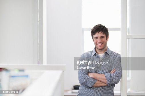 Portrait of young business man : Photo