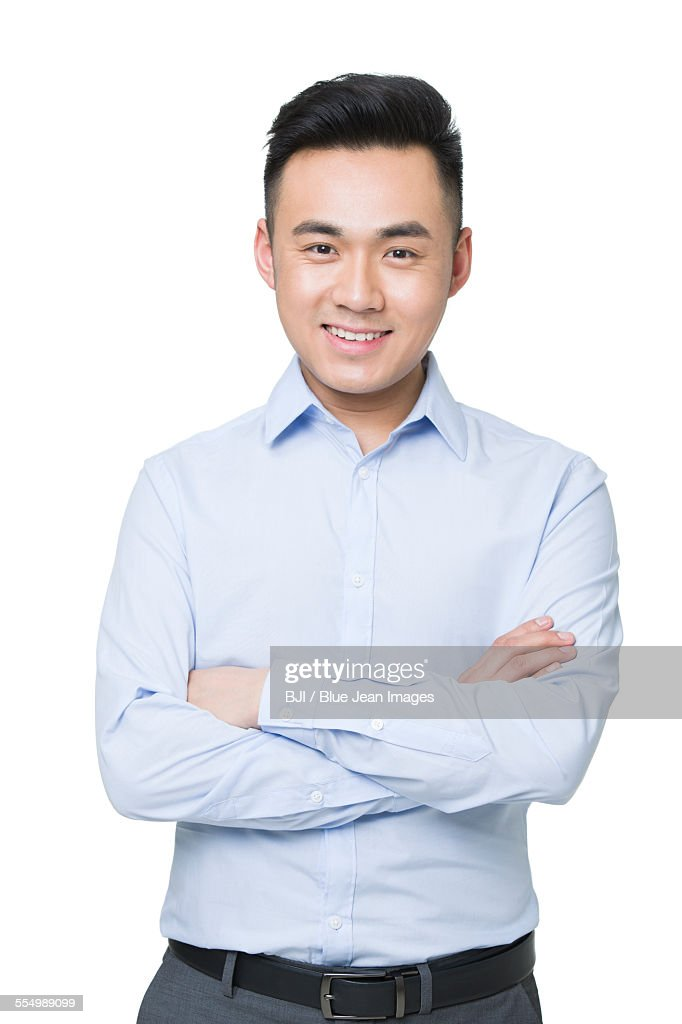 Portrait of young businessman : Stock Photo