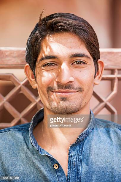 Portrait of Young Indian Man