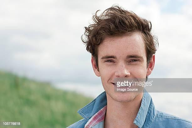 Retrato de jovem Homem