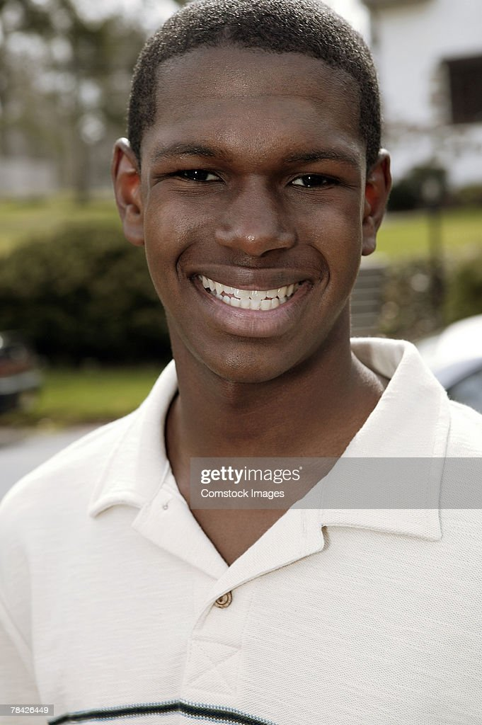 Portrait of young man : Stock Photo