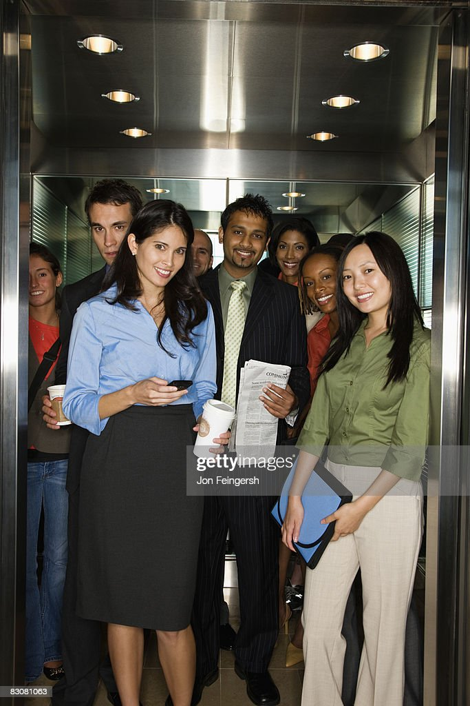 Portrait of Young Professionals : Stock Photo
