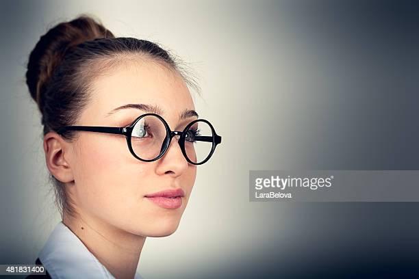 Porträt eines jungen secretary