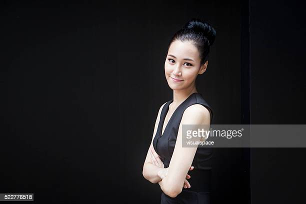 Portrait of Young Successful Asian Woman