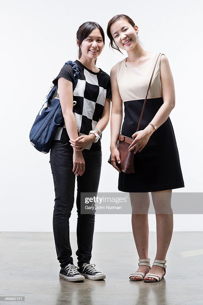 Portrait of young women : Stock Photo