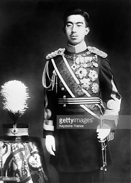 Portrait officiel de l'Empereur Hirohito en 1929 a Tokyo Japon