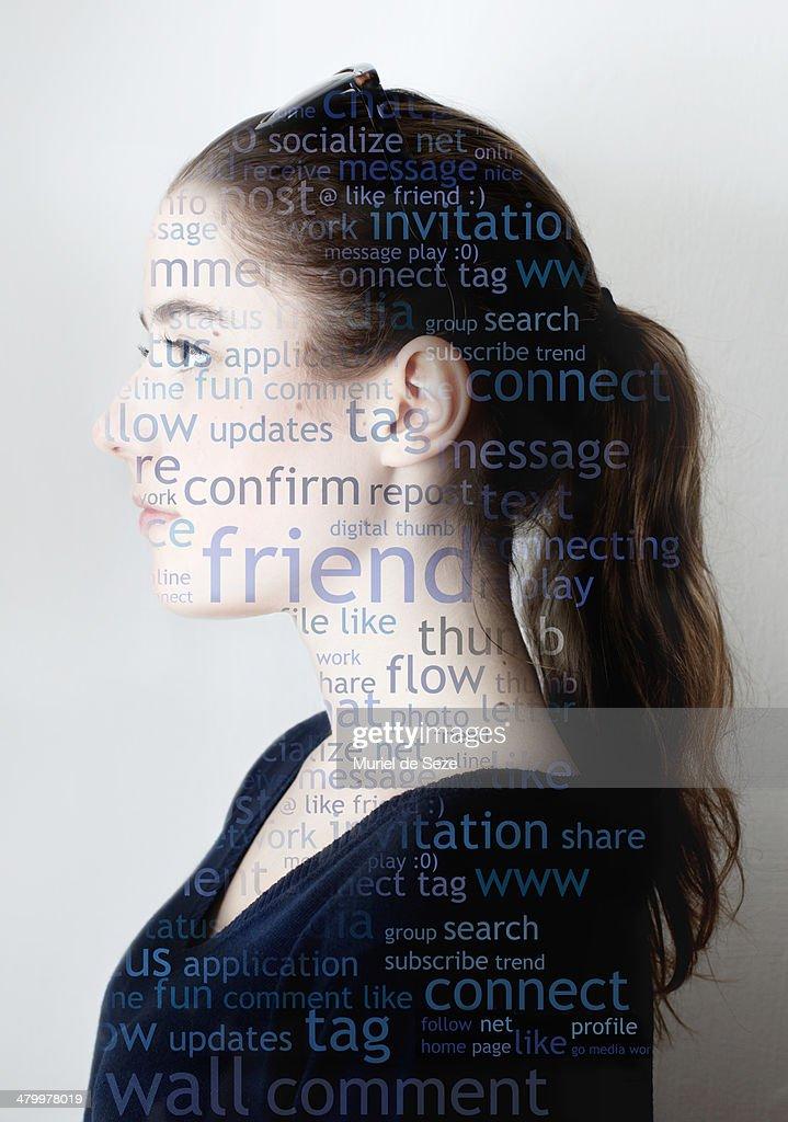Portrait / Social media : Stock Photo