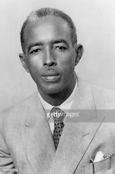 Portrait taken 15 June 1961 of the first Somalian president Adan Abdullah Osman Portrait pris le 15 juin 1961 du premier président somalien Adan...