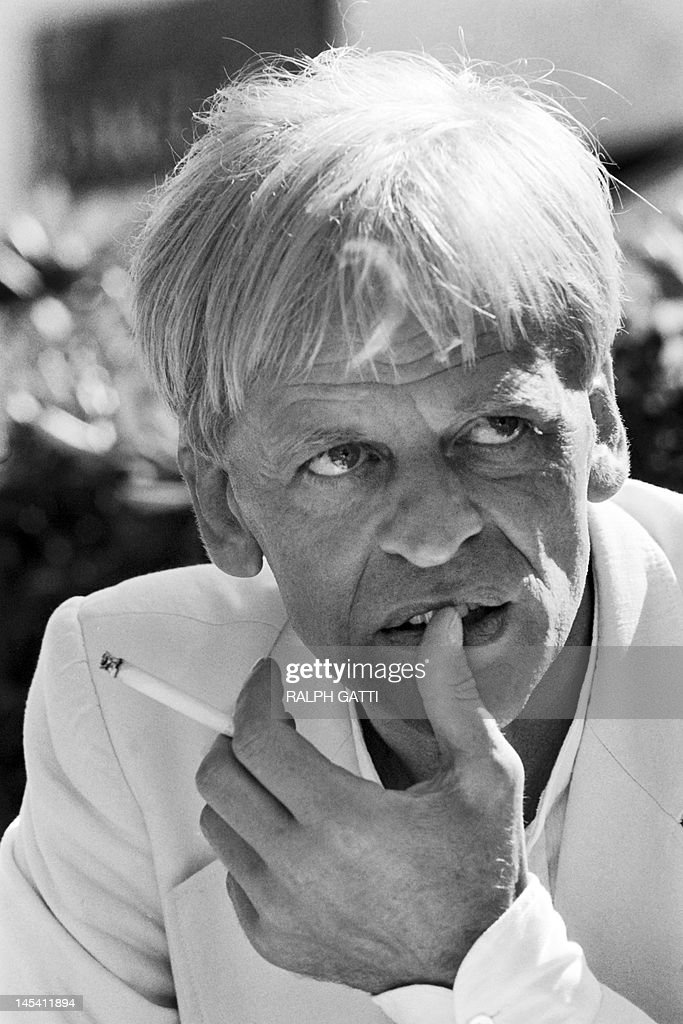 A portrait taken on May 21, 1979 shows German actor <a gi-track='captionPersonalityLinkClicked' href=/galleries/search?phrase=Klaus+Kinski&family=editorial&specificpeople=926822 ng-click='$event.stopPropagation()'>Klaus Kinski</a> during the 32th International Film Festival in Cannes.