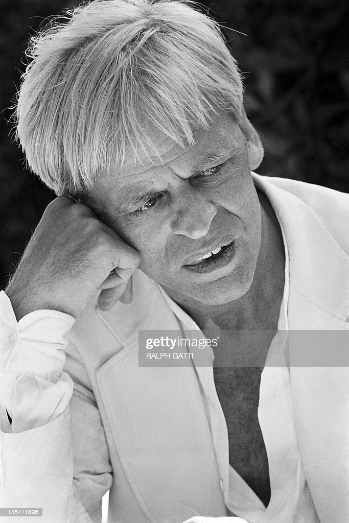 A portrait taken on May 21, 1979 shows German actor <a gi-track='captionPersonalityLinkClicked' href=/galleries/search?phrase=Klaus+Kinski&family=editorial&specificpeople=926822 ng-click='$event.stopPropagation()'>Klaus Kinski</a> during the 32th International Film Festival in Cannes. AFP PHOTO RALPH GATTI