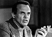 Portrait taken on October 26 1976 shows US singer and actor Harry Belafonte AFP PHOTO