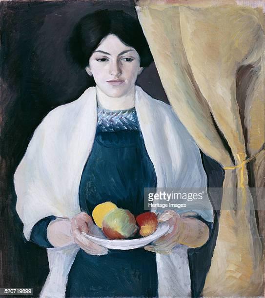 Portrait with Apples Found in the collection of Städtische Galerie im Lenbachhaus Munich