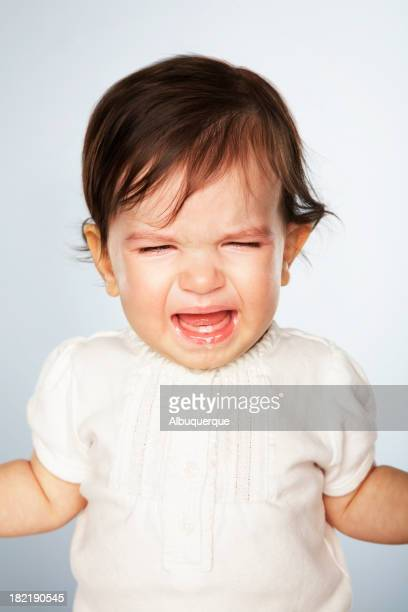 Portrait-Crying Baby
