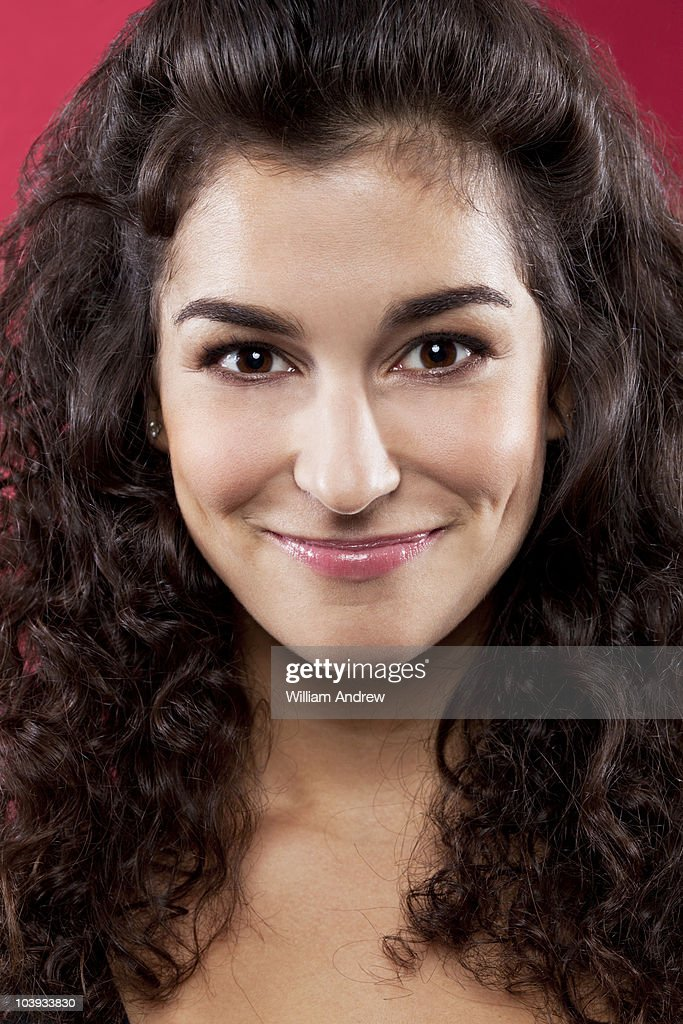 Portraite of a woman : Stock Photo