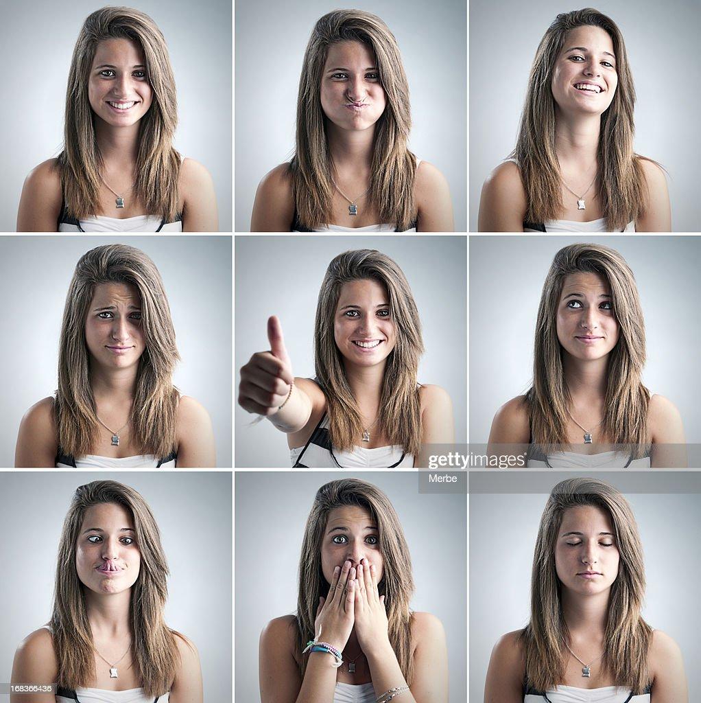 portraits of a beautiful teen