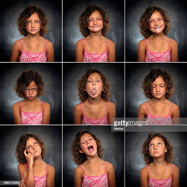 Portraits of a little girl