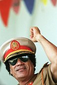 Portraits Of Colonel Gaddafi On September 1st 1996 In Libya