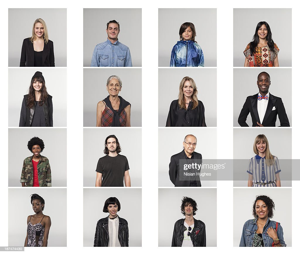 portraits of Group of people : Foto stock