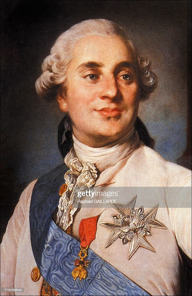 Portraits of Louis XVI in France in 1993 - The Dauphin, Louis XVI, by Duplessis