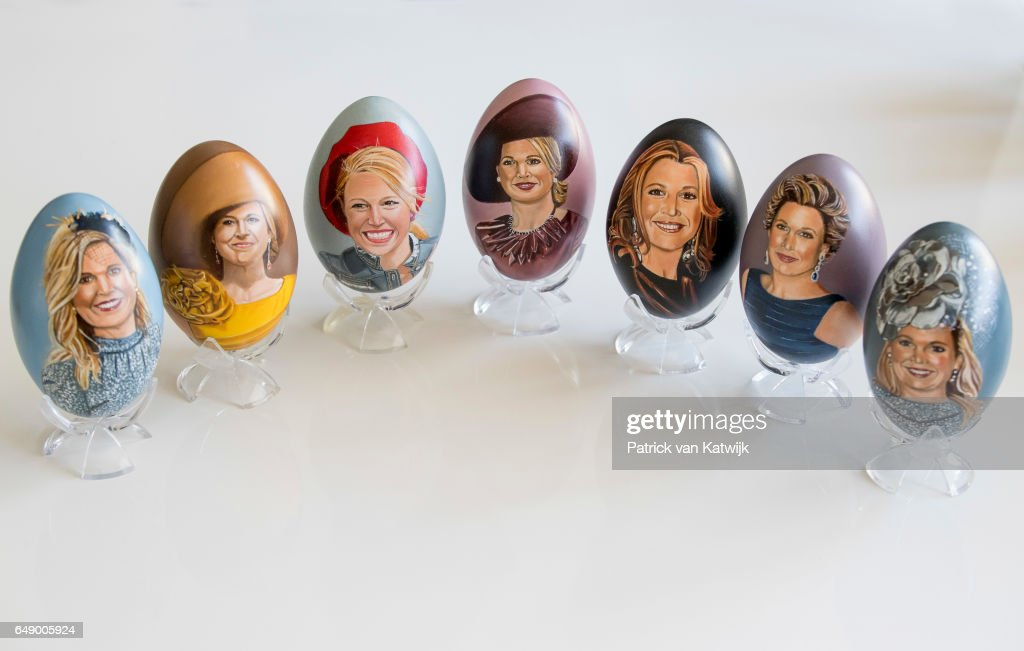 portraits-of-queen-maxima-of-the-netherlands-on-an-handpainted-egg-by-picture-id649005924
