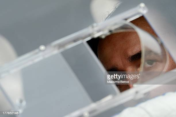 Portraits of Robert Kubica of Poland during Day Four of the WRC Germany on August 25 2013 in Trier Germany