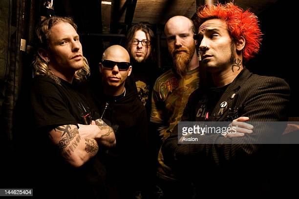 Portraits of the band Stone Sour shot in London 9th November 2006 Job30406 RefSBN